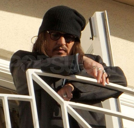 johnny depp 2011 pics. Angeles - Johnny Depp 2011