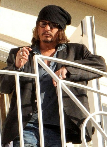 Feb 12 Los Angeles - Johnny Depp 2011