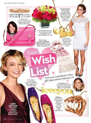 February 14th: US Weekly