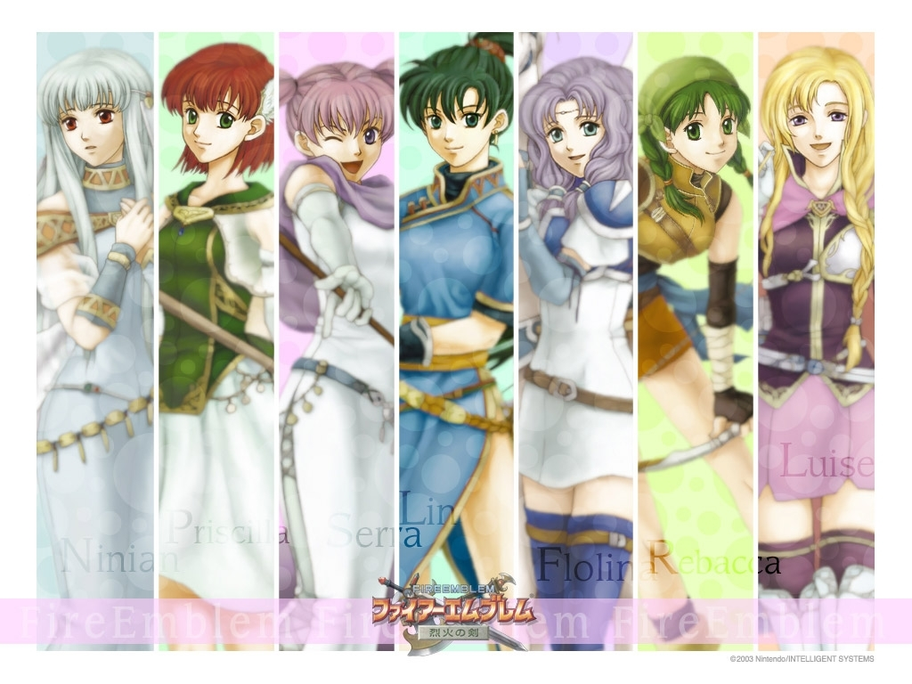 Fire-Emblem-Females-Grouped-the-best-ani