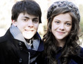 Georgie Henley and Skandar Keynes - georgie-henley photo