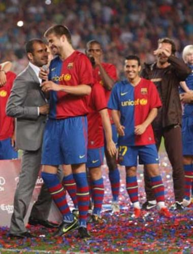 Guardiola asked Piqué: How passionate is Shakira?