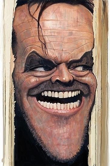 Here S What Kylie Jenner Lipstick Looks Like On: Jack Nicholson Fan Art (19394194)