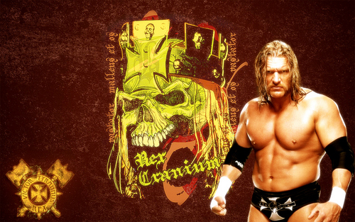 Triple H Wallpaper Containing A Hunk Titled HHH