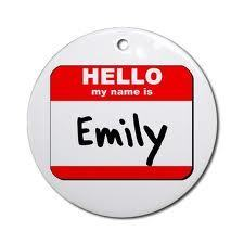 Hello My Name Is Emily :)