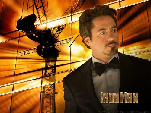 Tony Stark wallpaper containing a business suit titled Iron Man