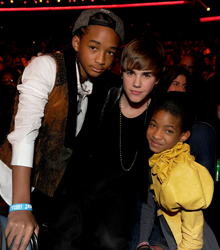 Jaden, Willow and Justin