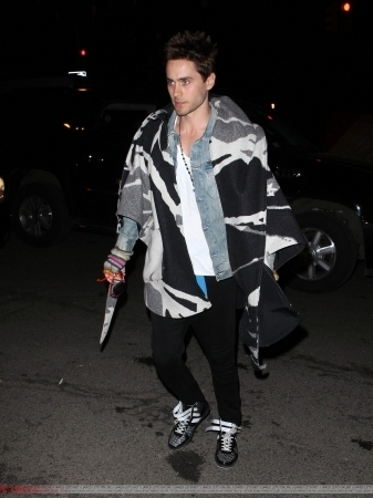 Jared Arriving At G-Star Raw - February 12th 2011