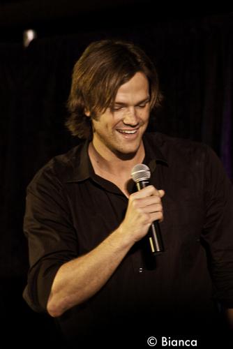 Jared,Jensen and Misha at LACon - 2011