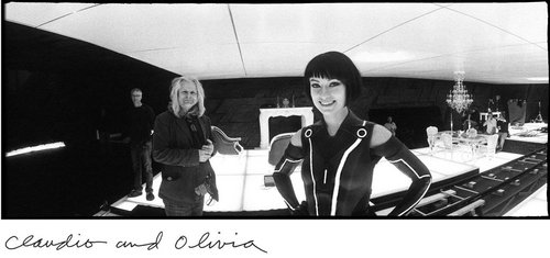 Jeff Bridges' Foto Book Making Tron:Legacy