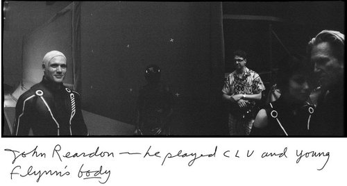 Jeff Bridges' Foto Book Making Tron:Legacy