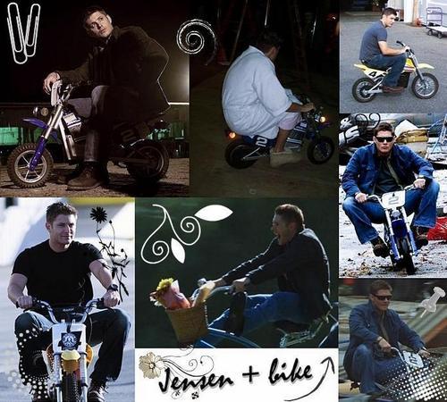 Jensen + bike