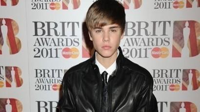 Justin At the Brits 2011