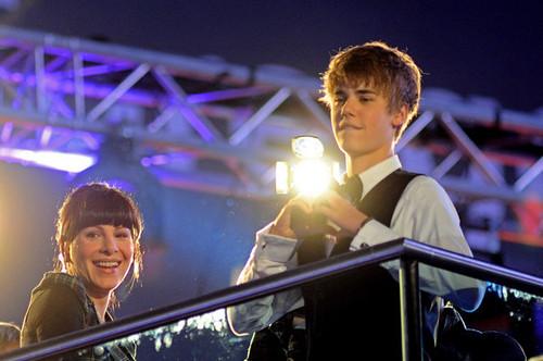 Justin Bieber: Never Say Never - UK Premiere