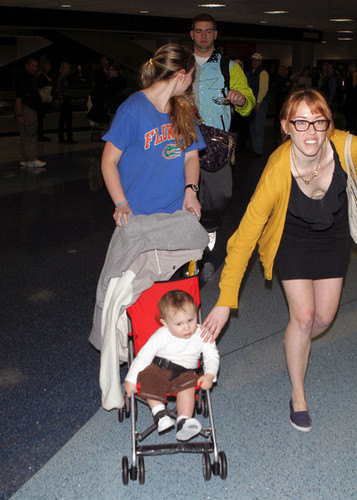 Kailyn& Isaac In LAX