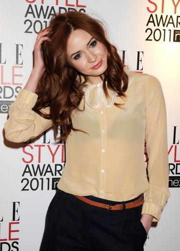Karen at Ellle Awards 2011