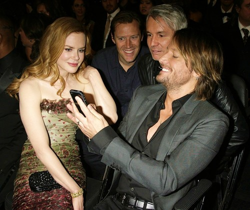 Keith, Nicole and Baz Luhrmann at the 53rd Annual GRAMMY Awards