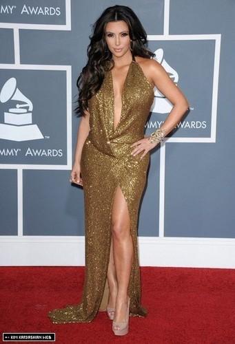 Kim @ The 53rd Annual GRAMMY Awards