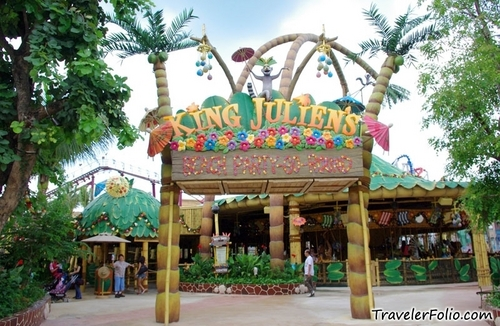 King Julien's ساحل سمندر, بیچ Party-Go-Round Carousel!