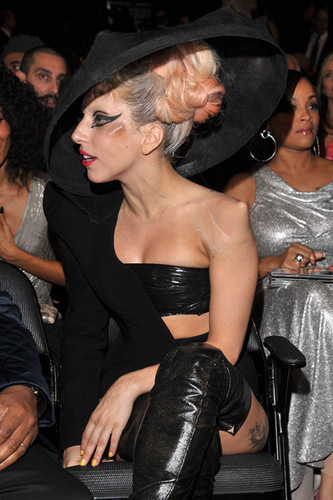 Lady Gaga - Grammys backtsage