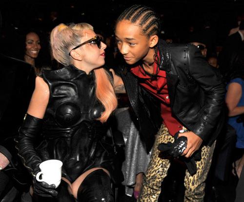 Lady Gaga - Grammys backtsage