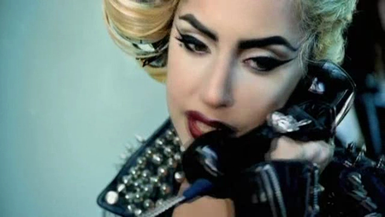 Lady Gaga ft. 碧昂斯 - Telephone 音乐 Video - Screencaps
