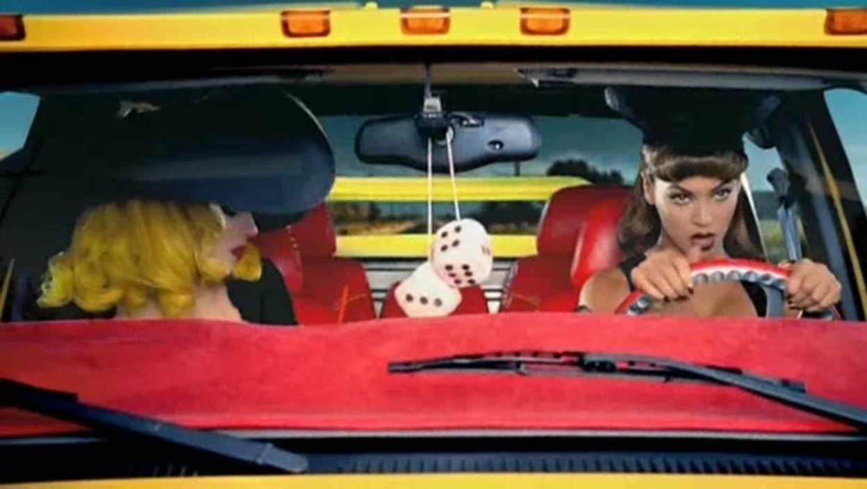 Lady Gaga ft. Beyonce - Telephone Music Video - Screencaps