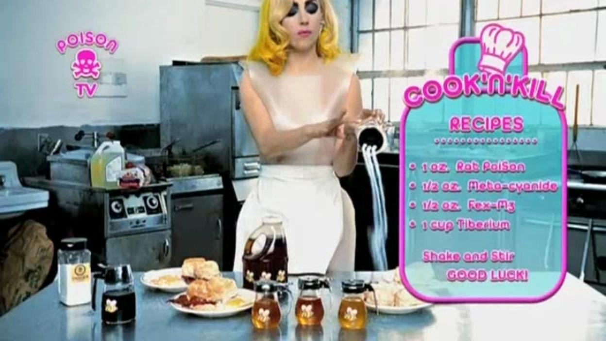 Lady Gaga ft. Beyoncé - Telephone âm nhạc Video - Screencaps