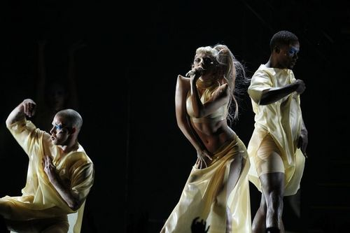 Lady Gaga - performance at 53rd Grammy Awards