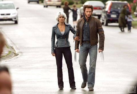 Hugh Jackman as Wolverine wallpaper with a business suit and a well dressed person called Logan