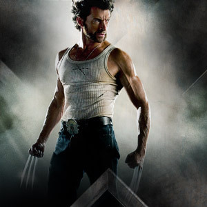 Hugh Jackman as Wolverine wolpeyper entitled Logan
