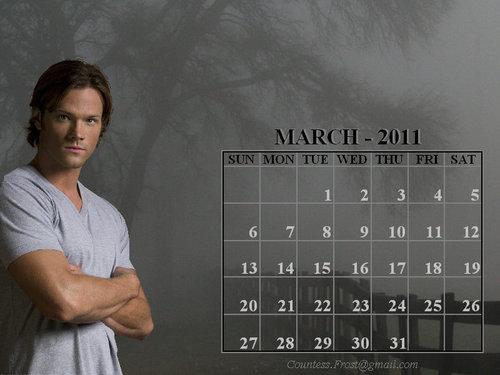 March 2011 - Sam (calendar)