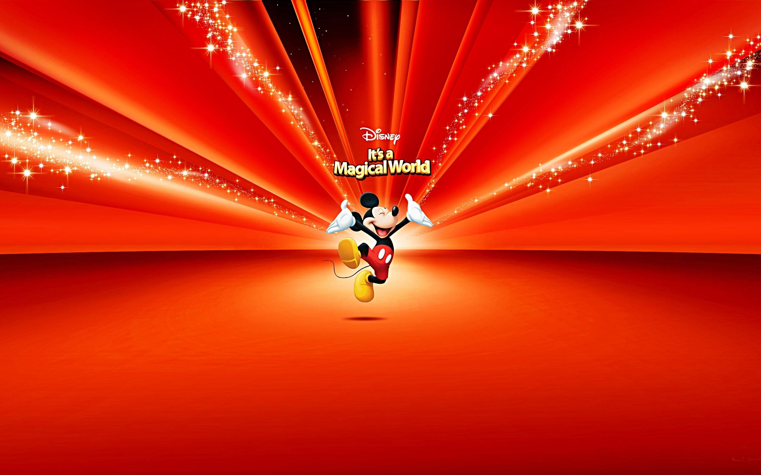 Walt Disney achtergronden - Mickey muis