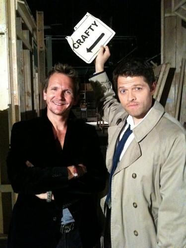 Misha & Sebastian BTS