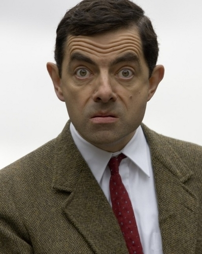 Mr. bohne Hintergrund with a business suit, a suit, and a double breasted suit entitled Mr. Bean!!