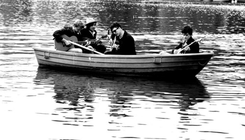 Mumford and Sons wallpaper possibly containing a canoe, a rowing boat, and a racing boat entitled Mumford and Sons