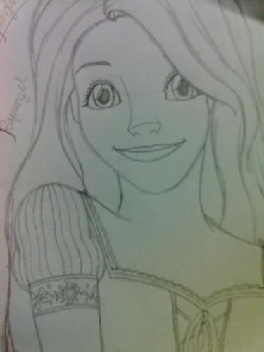 My cousin's drawings for me!