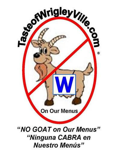 NO GOAT on the MENU