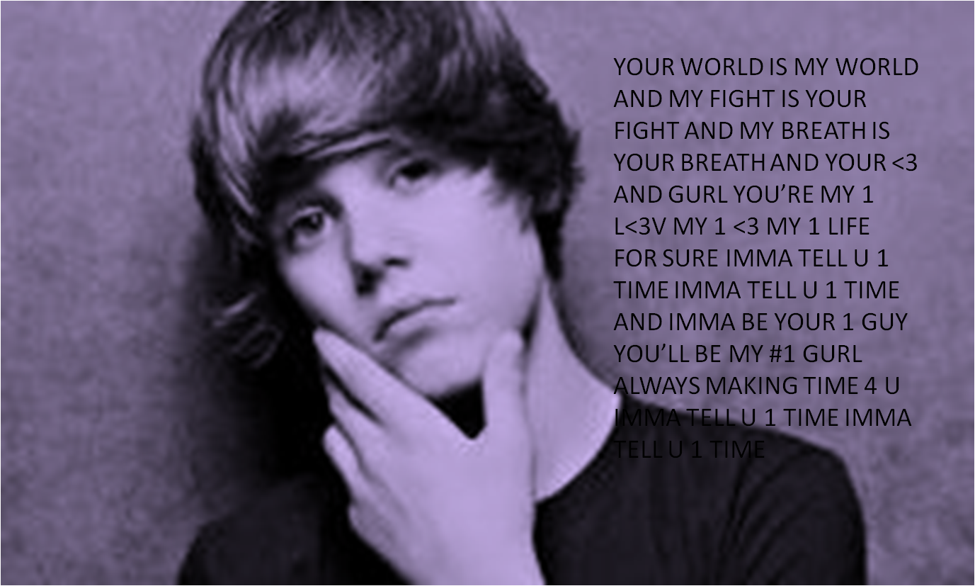 Justin Bieber songs images One Time Lyrics HD wallpaper ...