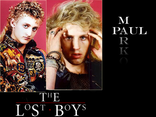 The Lost Boys Movie fond d'écran possibly containing a portrait and animé entitled Paul And Marko.