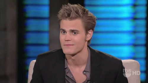 Paul Wesley On Lopez Tonight