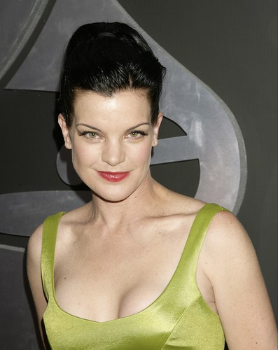 Navy CIS Hintergrund entitled Pauley Perrette - The 53rd Annual GRAMMY Awards
