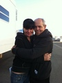 Pauley Perrette and Joe Spano
