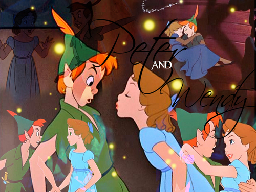 Peter/Wendy collage