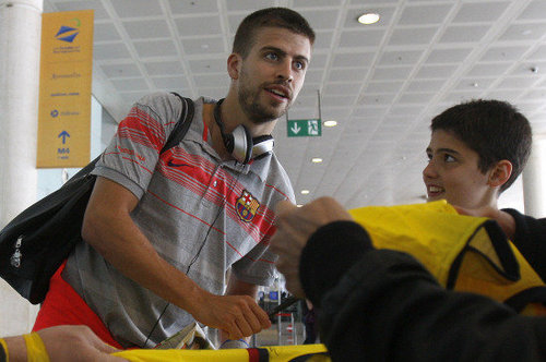 Pique turns to the police to get rid of the paparazzi
