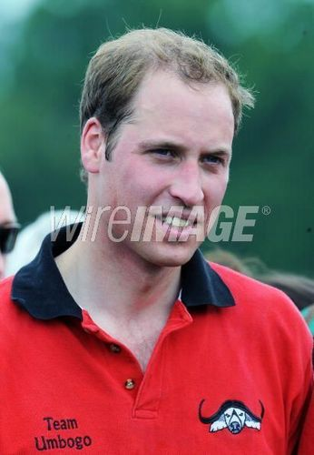 Prince William Takes Part in Cirencester Polo Tournament