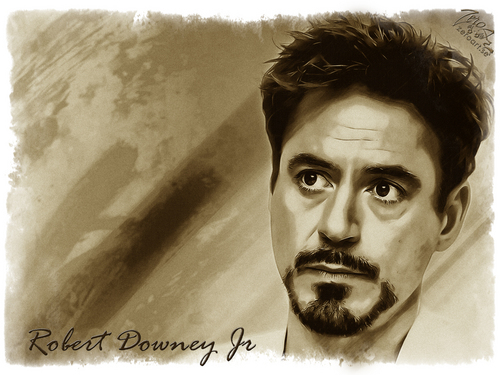robert_downey_jr. wallpaper entitled RDJ