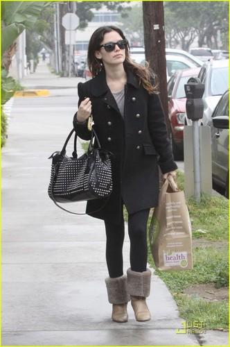 Rachel out in Santa Monica