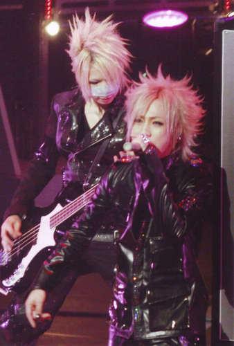 Ruki and Reita