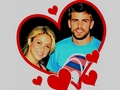 SHAKIRA PIQUE LOVE 2009 - shakira-and-gerard-pique wallpaper